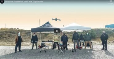 Barrie Fire Sugu Drones
